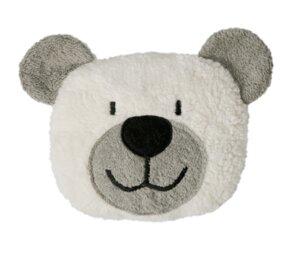 Dinkelkorn-Wärmekissen Teddy, grau (KbA) - Efie