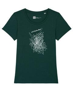 Frauen T-Shirt not disturbed aus Biobaumwolle Fair Wear - ilovemixtapes