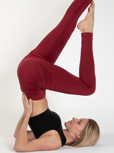 Yoga Leggings LARA mit Rock aus Naturmaterial - Magadi