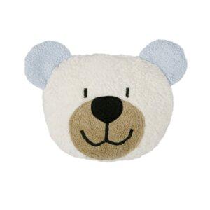 Dinkelkorn-Wärmekissen Teddy, blau (KbA) - Efie