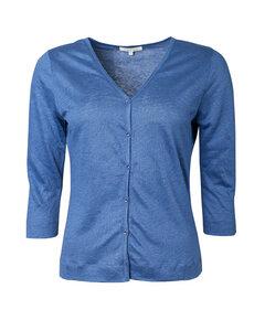 Kurzjacke aus Leinen-Jersey 'Linen Jacket' - Alma & Lovis