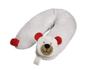 Stillkissen Teddy Inlett gefüllt mit Dinkelspelzen (KbA) - Efie