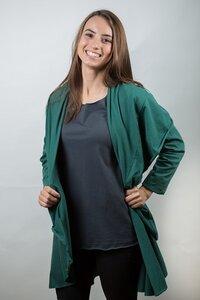 Damen Langarmjacke aus Bio-Baumwolle Lissy - NEPALAYA