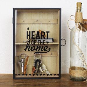 Schlüsselkasten aus Holz 'Home' - Mitienda Shop