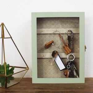 Schlüsselkasten aus Holz 'Weave' - Mitienda Shop