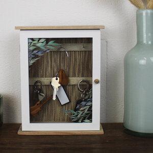 Schlüsselkasten aus Holz 'Olivenbaum' - Mitienda Shop