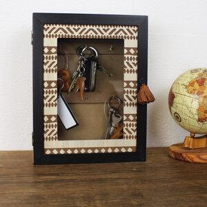 Schlüsselkasten aus Holz 'Africa' - Mitienda Shop