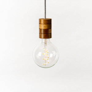 Pendelleuchte FAFOO aus Echtholz - Lichtliebe