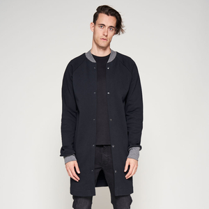 Mantel SWEAT schwarz/grau - LUMEN organic