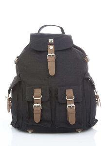 Hanf-Rucksack XL mit 4 Außentaschen von PURE Concept (HF-0017) - PURE