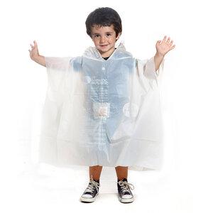Regencape / Regenjacke aus Bio-Kunsstoff für Kinder  - Equilicua