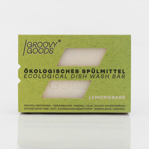 Ökologisches festes Spülmittel, Lemongrass - Groovy Goods