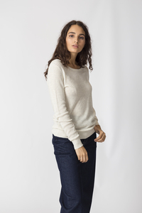 Sommerlicher Strick Pullover aus Bio Baumwolle - IRADI - SKFK