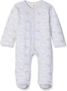 DimOrganic Schlafanzug mit Fuß Schäfchen - DimOrganic