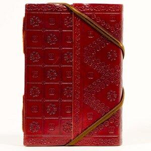 Leder Notizbuch mit Verschluss - Kalakosh