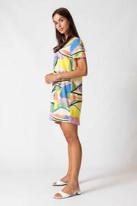 Sommer Kleid aus Ecovero Viscose - Kai Short - Camo Summer - SKFK