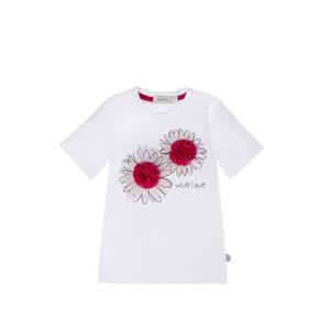 T-Shirt aus Bio Baumwolle mit platziertem Druck - Marraine Kids
