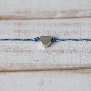 Armband 925 Silber Herz - Rella Designshop