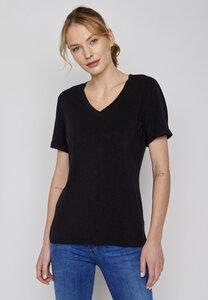Damen Shirt Basic Petite - GreenBomb