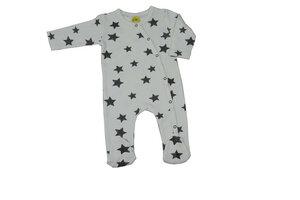 Schlafanzug mit Fuß Sterne - DimOrganic