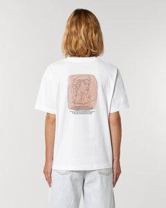 Bio-Baumwolle Oversize Shirt / What powers surround us? - Kultgut