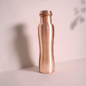 Kupfer Trinkflasche matt curve 900ml - Forrest & Love