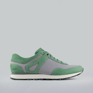 low seed runner / nubuk & canvas / weiße sohle - ekn footwear