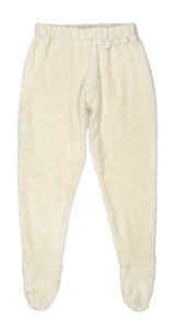 Lotties Baby Hose mit Fuß natur Bio Frottee Baumwolle 62-140 - Lotties