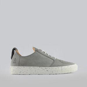 argan low / graues nubuk / weiße sohle - ekn footwear