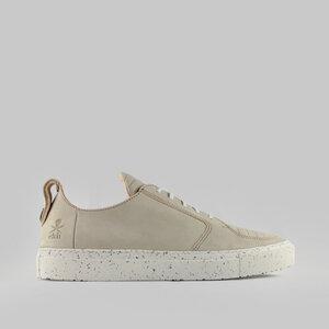 argan low / beiges nubuk / weiße sohle - ekn footwear