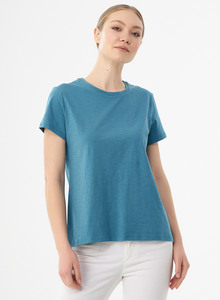 Damen Basic T-Shirt aus Bio-Baumwolle - ORGANICATION