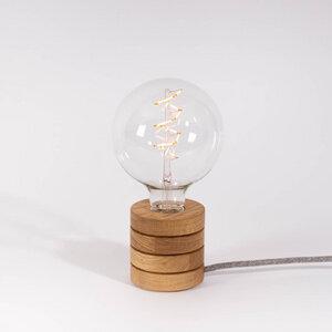 Tischlampe Fafoo aus Vollholz - Lichtliebe