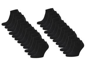 24er Set Biobaumwoll Sneaker Socken Herren Damen - Opi & Max