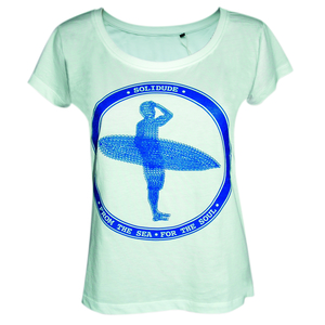 """Loose Fit Shirt """"Blue Surfer"""" - SOLIDUDE"""