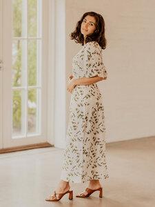 Langes sommerliches Kleid aus Bio-Baumwolle - KAIKO