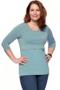 103 BASIC Umstands- und Stillshirt 3/4 Arm aus Bio-Baumwolle - Milchshake