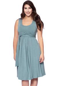 104 elegantes Basic Umstands- & Stillkleid aus TENCEL Modal - Milchshake