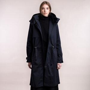 Wasserabweisender Mantel mit Kapuze - Mila.Vert