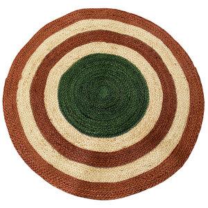 BIG STRIPE Jute Teppich in 2 Farbkombinationen - Afroart