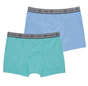 Herren Pants 2er Pack ohne Eingriff, Single Jersey, - Haasis Bodywear