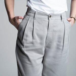 Hosen Damen - Tencel Slacks beige/schwarz/grau - Vresh Clothing