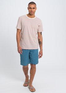 Herren Sweathose aus Baumwolle (Bio) blau   Sweat Shorts navy - recolution