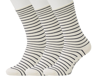 3er Set Stripe Pattern Socks - Opi & Max