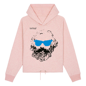CHILLER - Bedruckter Damen Hoodie aus Bio-Baumwolle - karlskopf