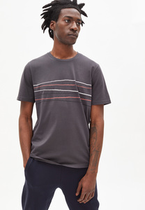 JAAMES CROOKED LINES - Herren T-Shirt aus Bio-Baumwolle - ARMEDANGELS