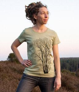 Erle mit Elster Damen T-shirt - Cmig