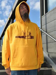 Dock 10 gelb Boy-Kapuzenpulli - T-Shirtladen-Marktstrasse GmbH