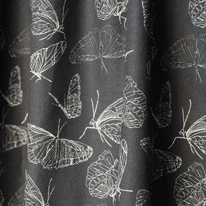 Stück Bedruckter Bio Stoff Schmetterlinge aus 100% Biobaumwolle - Biostoffe Berlin by Julie Cocon