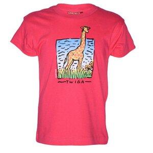 """Kinder T-Shirt """"Twiga die Giraffe"""" Fairtrade aus Baumwolle - Africulture"""