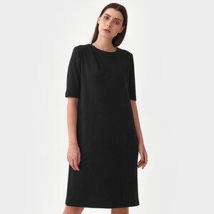 Kleid mit Falten Detail - Mila.Vert